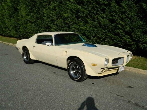 1970 Pontiac Trans Am Project