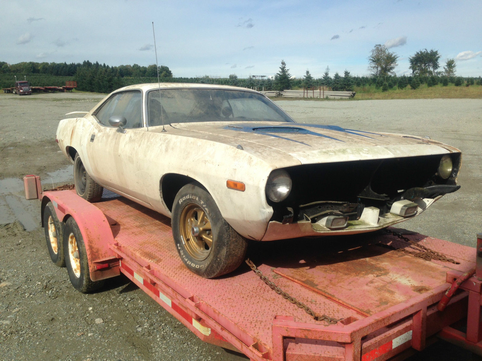 1972 Plymouth Barracuda - Project Cars For Sale