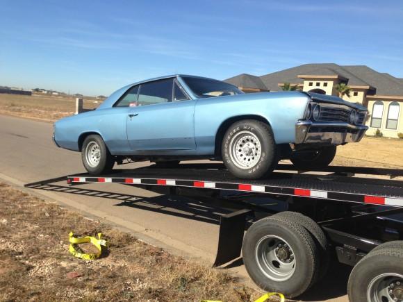 1967 Chevrolet Malibu Project