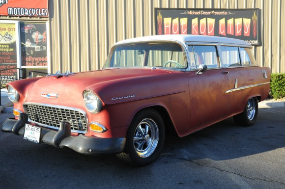 1955 Chevrolet 2 Door Wagon