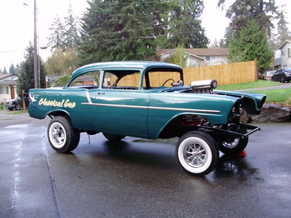 1956 chevrolet 150 gasser project