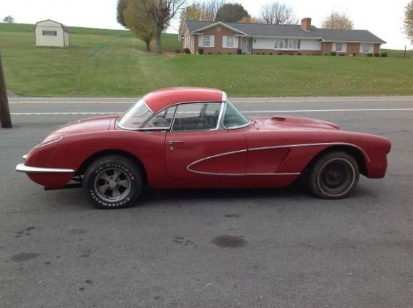 1959 Corvette Project