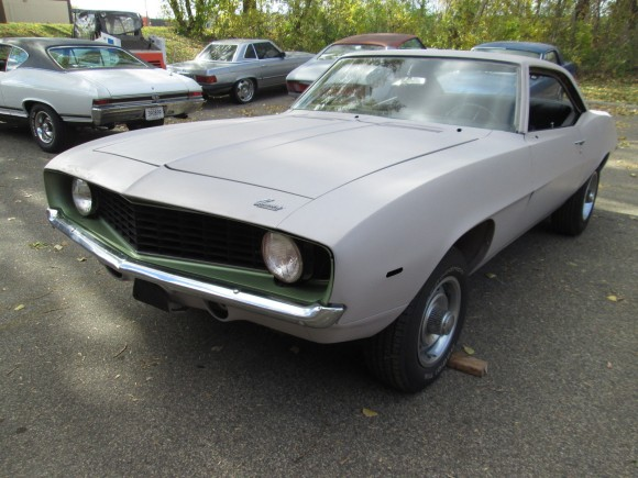 1969 Camaro Project