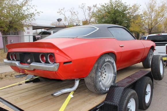 1971 Camaro Project