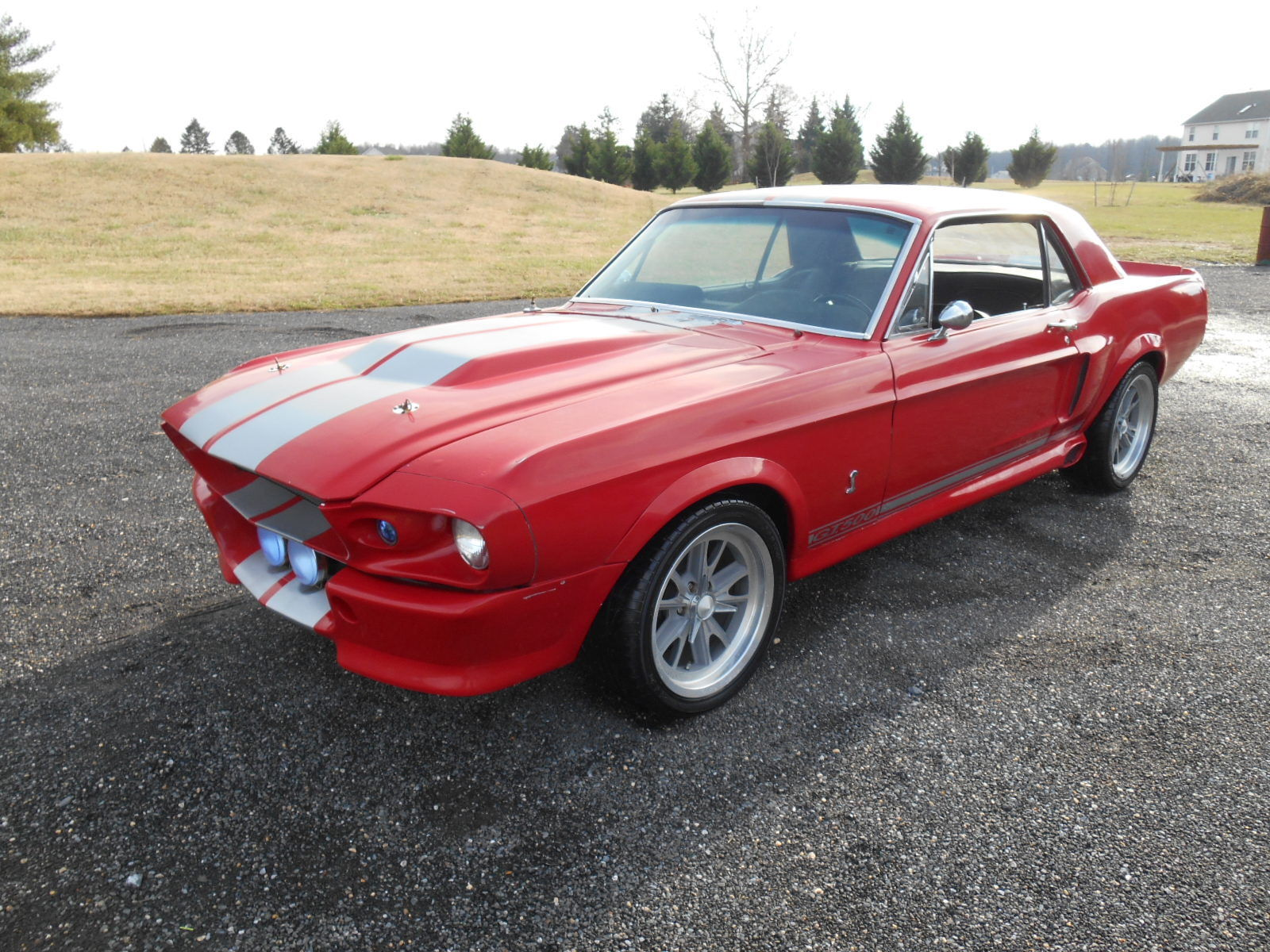 1967 ford mustang gt500 clone project cars for sale. Black Bedroom Furniture Sets. Home Design Ideas