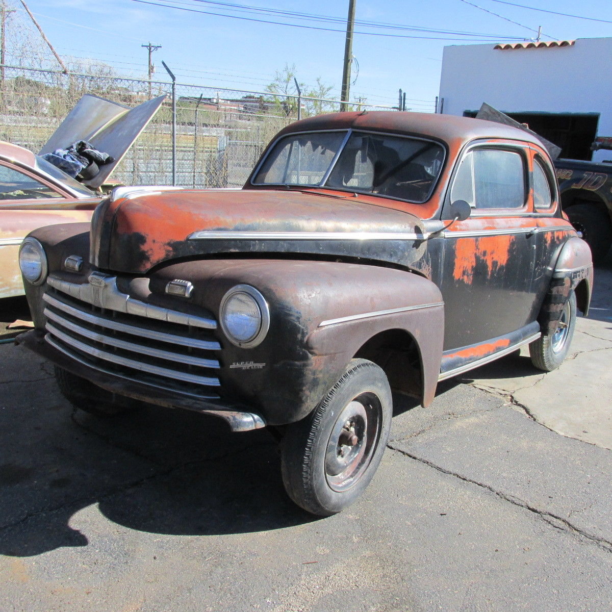 1948 Ford Coupe Hot Rod