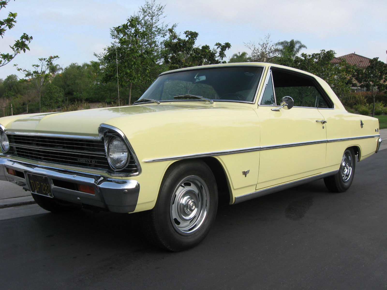 1967 chevrolet chevy ii nova sport coupe project cars for sale. Black Bedroom Furniture Sets. Home Design Ideas