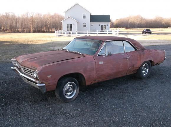 1967 Chevrolet Malibu Hardtop