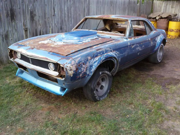1967 Chevrolet Camaro Project Project Cars For Sale