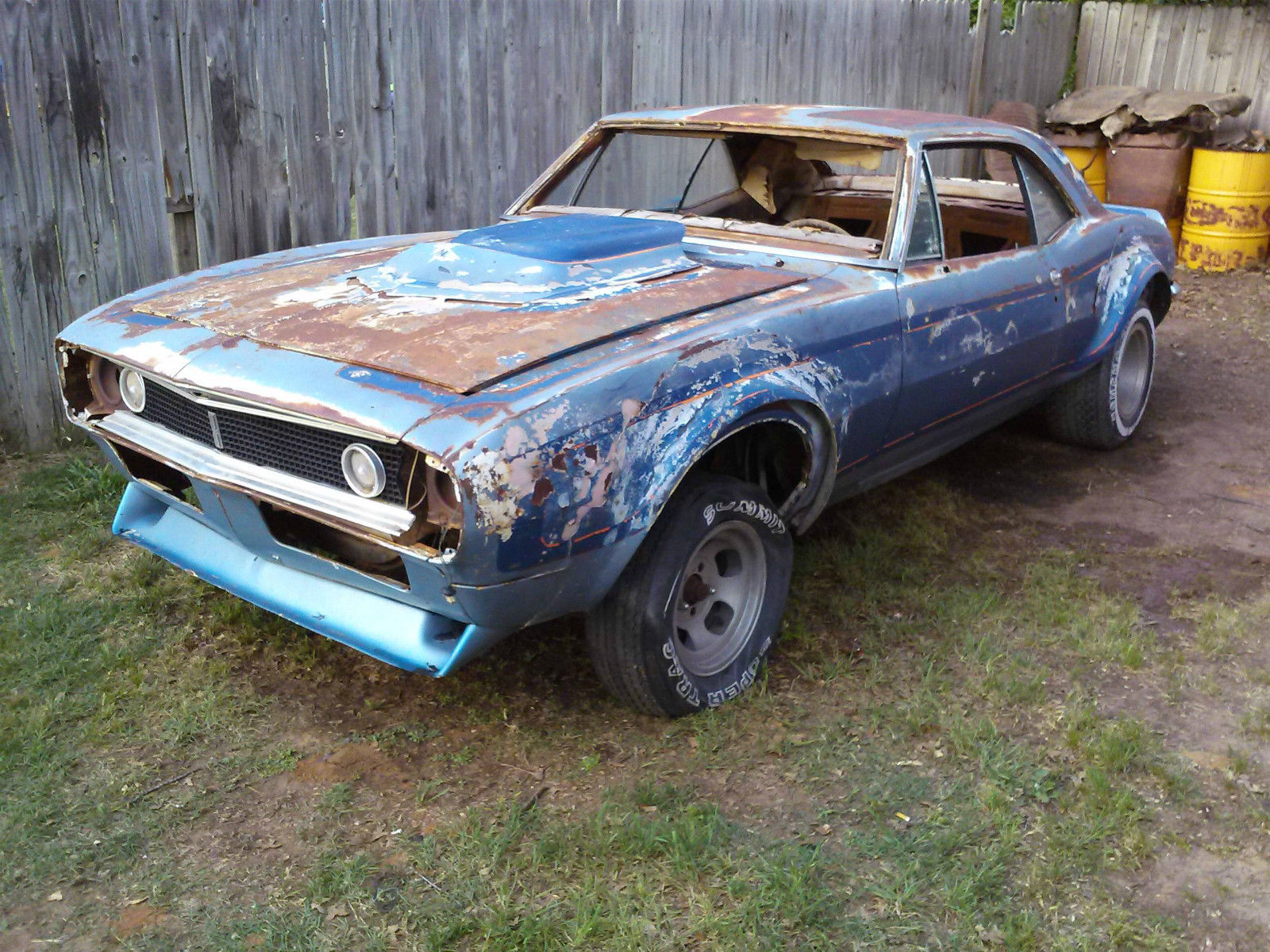 Rebuildable 1968 Camaro Autos Post